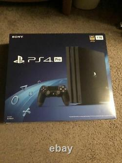 100% new sealed PS4 Pro 1TB Black Console CUH-7215B NEWEST VERSION
