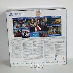 12GB Sony Playstation 3 PS3 Super Slimline Black Console New & Sealed