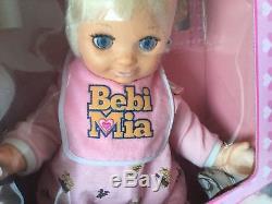 1994#vintage Gig Galoob Bebi Mia Baby Talk#nib Sealed Box Sigillata Rara