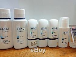 7pcs Obagi Nu Derm Fx System Full Size Regimen Kit Normal-oily Sealed