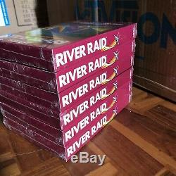 Activision River Raid For Atari 2600, 1982 Factory Box 6 Units. New Sealed