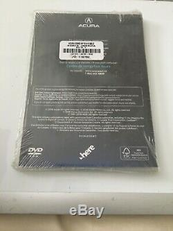Acura NAVIGATION SYSTEM Disc 1 2019 Brown DVD UPDATE HERE MAPS Sealed
