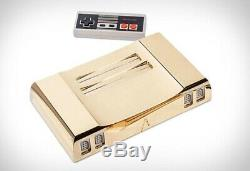 Analogue NT 24K GOLD NINTENDO NES Manufacture #9 out of 10 Factory Sealed NEW