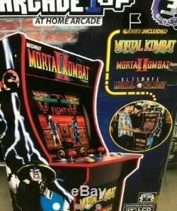 Arcade 1Up Mortal Kombat 2 video LCD game Machine 3 in 1 New Factory Sealed NIB