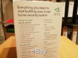 Arlo Pro Smart Security System 3 Wire-Free HD Camera VMS4330-100NAS, Sealed, New