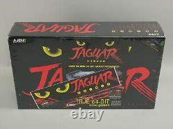 Atari Jaguar 64-Bit Game Console NTSC J8001 System Brand New & Factory Sealed