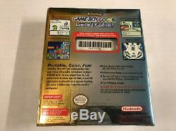 BRAND NEW Limited Edition Nintendo Game Boy Color Pokemon SEALED Rare (1)