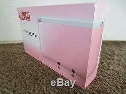BRAND NEW Nintendo 3DS XL White & Pink Handheld System Console Factory Sealed