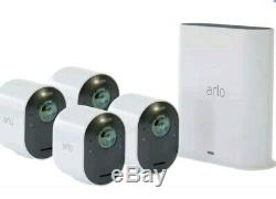 BRAND NEW SEALED Arlo Ultra UHD Wireless 4K HDR Security 4 Camera System
