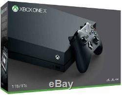 BRAND NEW & SEALED Microsoft Xbox One X 1TB Matte Black Console