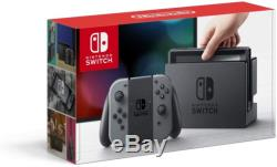 BRAND NEW SEALED Nintendo Switch 32GB Gray Console with Gray Joy-Con
