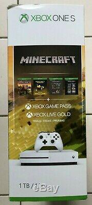 BRAND NEW SEALED! Xbox One S 1TB Console Minecraft Creators Bundle FAST SHIP