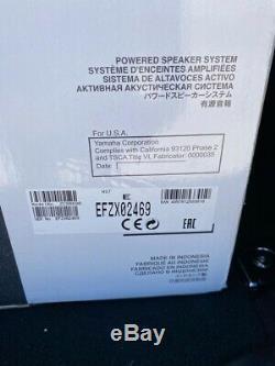 BRAND NEW & SEALED Yamaha HS7 POWERED STUDIO MONITOR Speaker System ZC98690