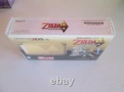 BRAND NEW SEALED Zelda Link Between Worlds Limited Ed. Nintendo 3DS XL Console