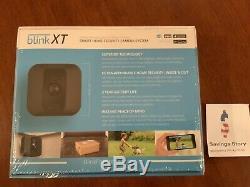 Blink XT 2 Camera Smart Indoor/Outdoor Home Security System Alexa New Sealed
