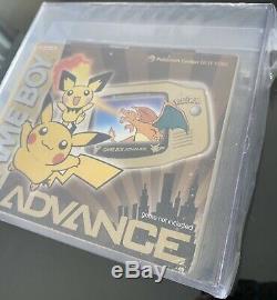 Brand New Factory Sealed Nintendo GBA Pokemon Center NY VGA Graded 85 Silver