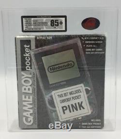 Brand New Factory Sealed Nintendo Gameboy Pocket 1997 In Pink Ukg Graded 85+nm