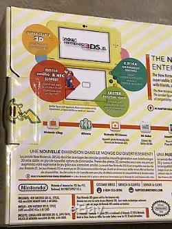 Brand New Factory Sealed Pikachu Yellow Edition Nintendo 3DS XL Console Pokemon
