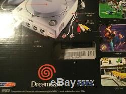 Brand New, Factory Sealed Sega Dreamcast Final Clearance $50.00 Model