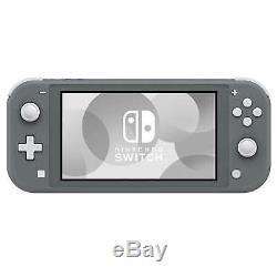 Brand New Nintendo Switch Lite Handheld Gaming Console Grey UK Seller Sealed Box