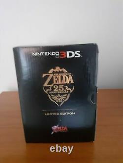 Brand New Sealed Nintendo 3DS Zelda 25th Anniversary Edition Console PAL RARE