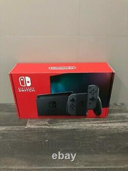 Brand New Sealed Nintendo Switch with Gray JoyCon Gaming Console 2020 IN HAND