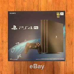 Brand New & Sealed Sony PlayStation 4 Pro 1TB Console Jet Black, PS 4 Pro