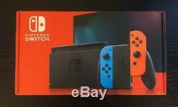 Brand New and Sealed Nintendo Switch Console Neon Free AU Delivery