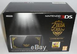 CONSOLE NINTENDO 3DS ZELDA 25th ANNIVERSARY LIMITED EDITION PAL BRAND NEW SEALED