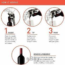 Coravin Model Two Premium Wine Preservation System Graphite SEALED
