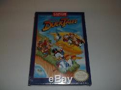 Disney's DuckTales (Nintendo Entertainment System, 1989) NIB SEALED H-SEAM MINT
