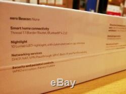 Eero Home WiFi System (1 eero Pro + 2 eero Beacons) Tri-Band Mesh WiFi, Sealed