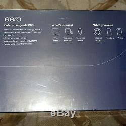 Eero Pro Mesh WiFi System 2nd Gen (2 Pack) (NewithFactory Sealed)