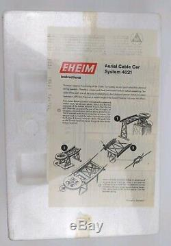 Eheim Aerial Cable Car System 4021 HO New Old Stock Factory Sealed Model Train
