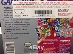 FACTORY SEALED Original Nintendo GameBoy System Game Boy DMG-01