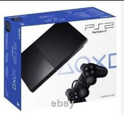 Factory Box of 5 Units Sony PlayStation 2 Ps2 (SCPH-90001) Slim Black. Sealed