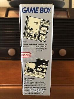 Factory Sealed Original Game Boy System + Super Mario Land 6 Golden Coins Dmg-01