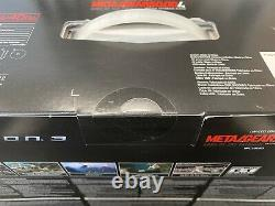 Factory Sealed Sony PS3 Metal Gear Solid Limited Edition Gun Metal Grey Console