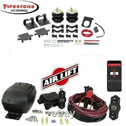 Firestone Air Bags 2613 & Wireless Airlift 2011-2020 Chevy GMC 2500HD, 3500HD