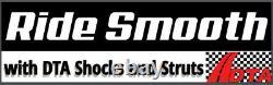 Full Set Quad Shock System- 6 Shocks-4 Front 2 Rear- Fit Bronco, 4WD F100 F150