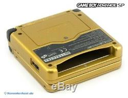GameBoy Advance console GBA SP Zelda Ltd Pak + power supply SEALED NEW & BOXED