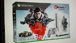 Gears 5 Xbox One X 1TB Limited Edition Bundle, New in Sealed box