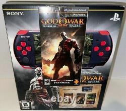 God Of War PSP 3000 Red Sony portable Handheld console With PRE ORDER NEW SEALED