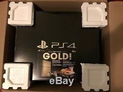 Gold Sony PS4 Bundle Taco Bell Limited Edition Console Brand New, Sealed