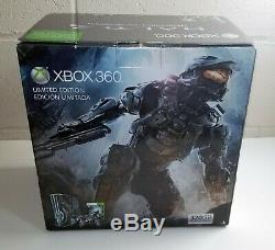 Halo 4 Limited Edition Microsoft XBOX 360 Console System Bundle SEALED NEW USA