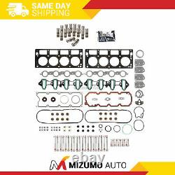 Head Gasket Set Bolts Lifters Fit 04-08 Chevrolet GMC Buick Cadillac OHV Non-AFM