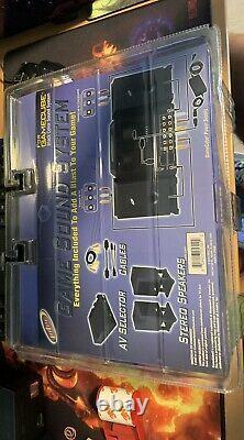 Intec GAME SOUND SYSTEM Stereo Speakers AV Selector Nintendo GameCube Sealed