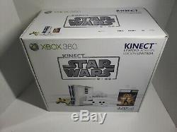 Kinect Star Wars Microsoft Xbox 360 Console System BNIB Sealed 320GB NEW Sealed
