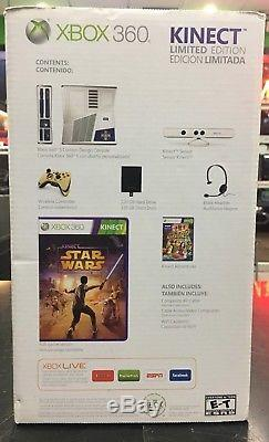 Kinect Star Wars Microsoft Xbox 360 Console System BRAND NEW Factory Sealed