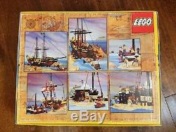 Lego Pirate System Set 6285 Black Seas Barracuda New Complete Sealed